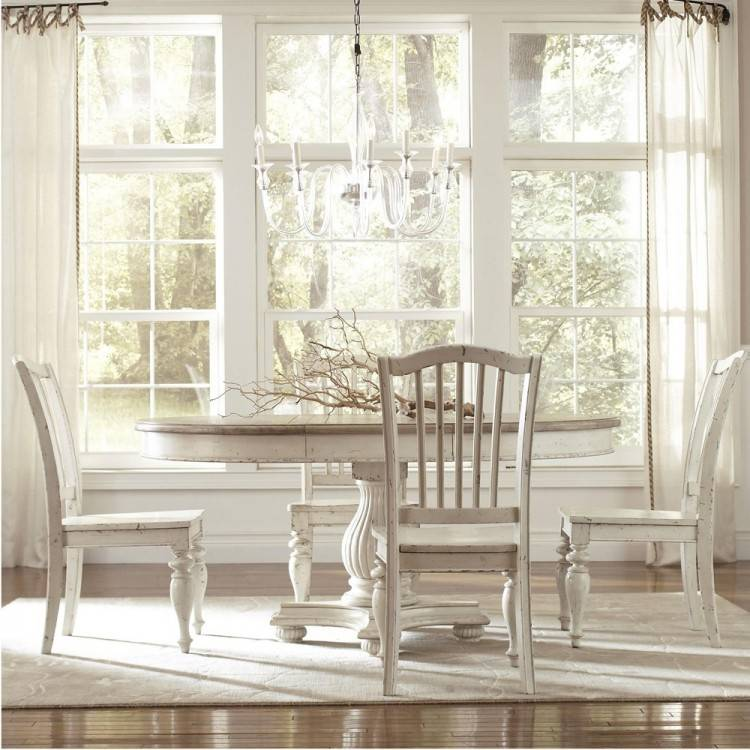 Large Picture of Riverside Furniture Coventry 3255 Round Dining Table