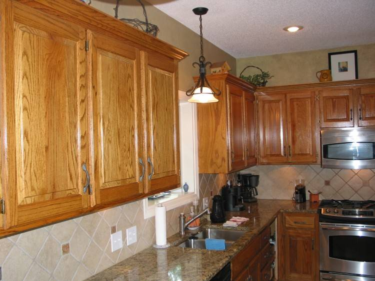 refinishing wood kitchen cabinets oak cabinet ideas