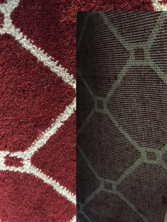 carpet backing types