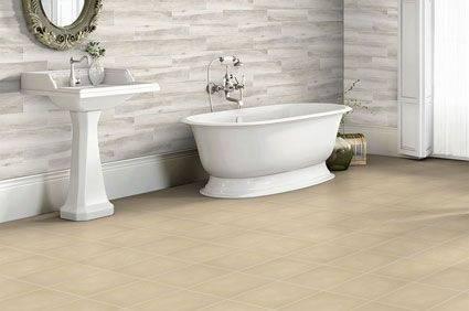 [Modern Bathroom] Traditional Bathroom Beige Beige Walls
