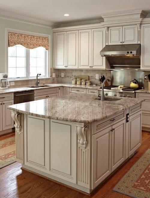 Kitchen Design Ideas Antique White Cabinets