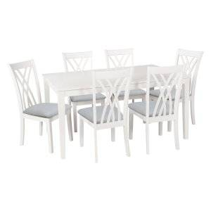 Large Picture of Powell Company Harrison 14D2041BL 5 pc Dining Set HD