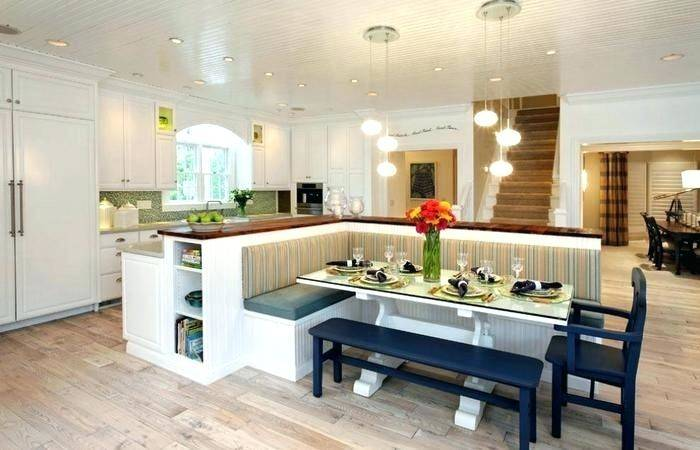full kitchen seating ideas