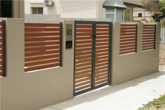 house fence ideas fence designs by fences r us home fence design ideas