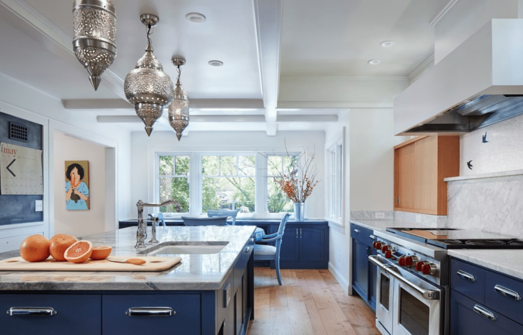 Full Size of Kitchen:45 Charming Navy Blue Kitchen Ideas Navy Blue Kitchen  Accents Blue