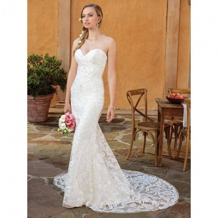 2320 gown from the 2018 Casablanca Bridal collection, as seen on  dressfinder