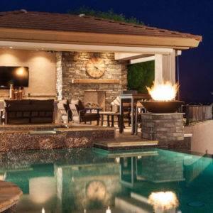 backyard pool and spa backyard pool design ideas images about pool design  ideas on pool spa