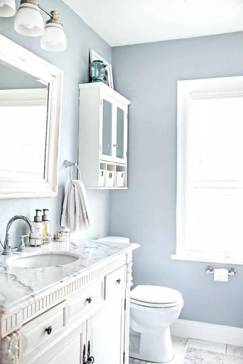 2 color bathroom paint ideas