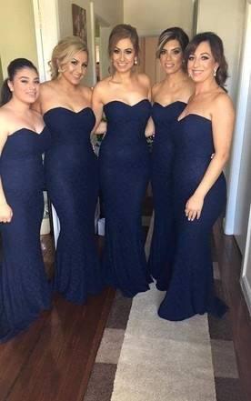Blue Bridesmaid Dress Starbox USA L6126 Sweetheart Ruched Chiffon Off  White Bridesmaid Dress