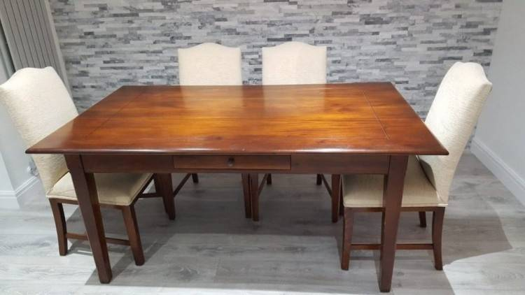 House of Fraser Mahogany Dining Table and Chairs