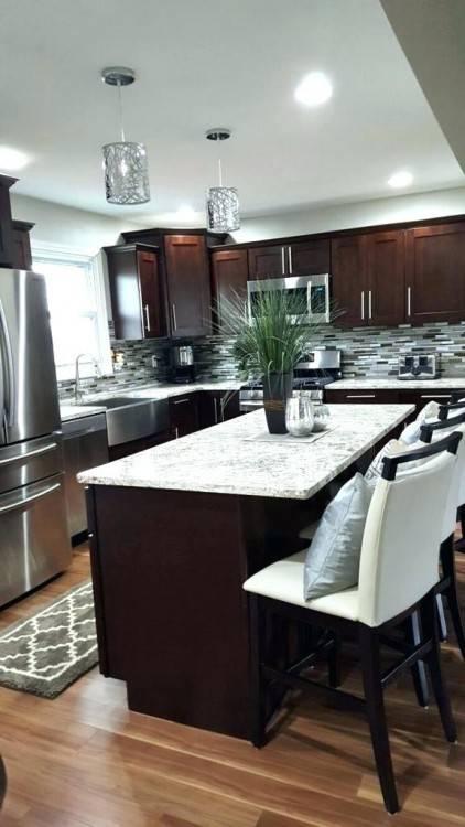 kitchen backsplash ideas for dark cabinets back splash for dark cabinets  alluring decor dark style cabinet