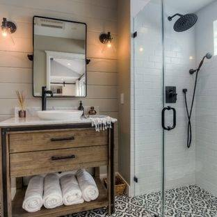 Bathroom Ideas: 21 Black, White & Grey Bathrooms to consider