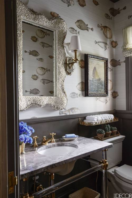 Fascinating Bathroom Wallpaper Ideas Picture In case you have furniture  that needs a suitable cleansing, consider selecting a professional washing  company