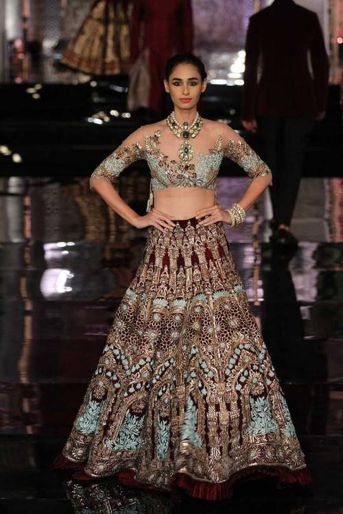 Manish Malhotra, India's leading designer, created a stunning collection  featuring bridal lehengas, sarees, sherwanis and more