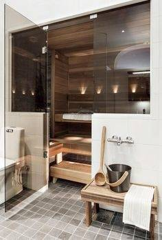 Sauna Bathroom Ideas  Decoration Regarding Modern Sauna Design