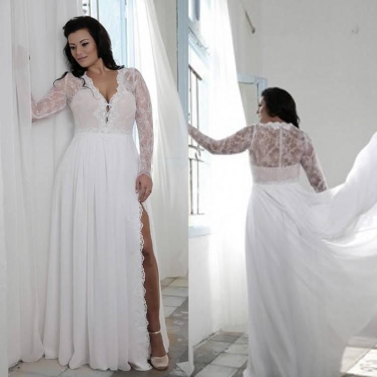 affordable bohemian wedding dresses | Brides