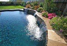 Water Feature Designs – Reflection Hotel Pool