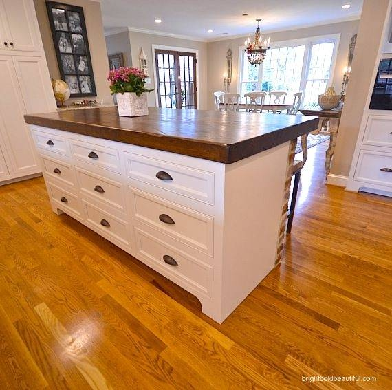 Butcher block island ideas