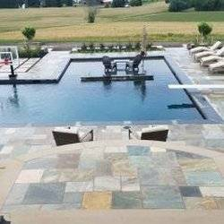 The pools of today are as much an art form as a coveted center of activity  for family, entertaining and more