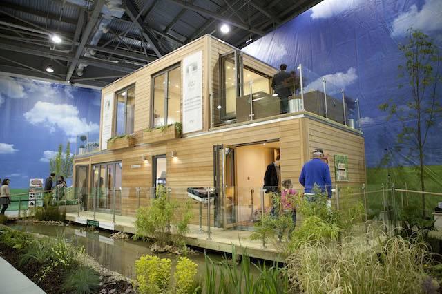 bere architects, focus house, north london prefab, timber, zinc cladding, grand  designs, riba london region award « Inhabitat – Green Design, Innovation,