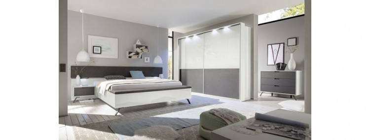 London Grey Bedroom Furniture