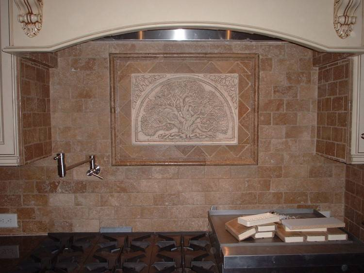 Kitchen Designs And Decoration Thumbnail size Tuscan Kitchen Backsplash  Designs Travertine Appliances Tips travertine kitchen stainless