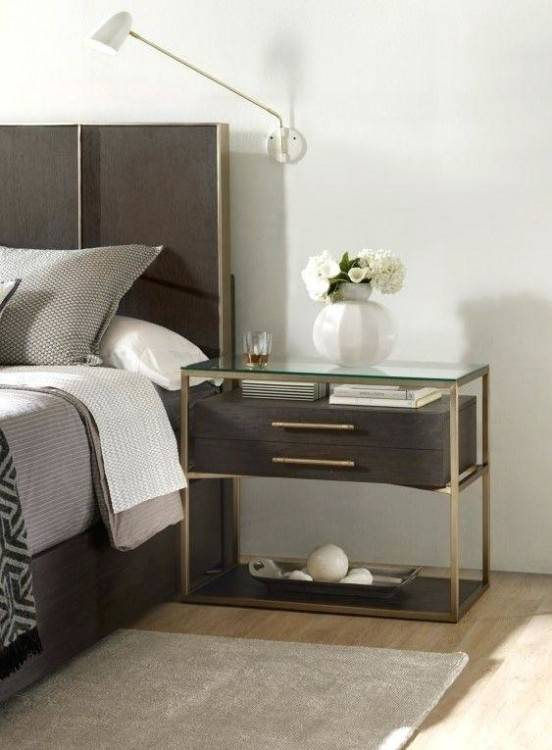 Tips For A Clutter Free Bedroom Nightstand Hgtv Bedrooms Intended For Master  Bedroom Nightstands Ideas