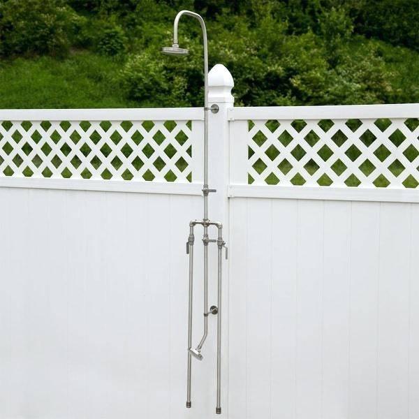 stainless steel outdoor shower fixtures stainless steel outdoor showers  outdoor shower stainless