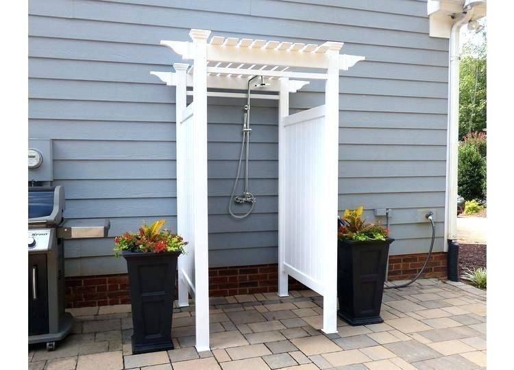 simple outdoor baby shower ideas for enclosure
