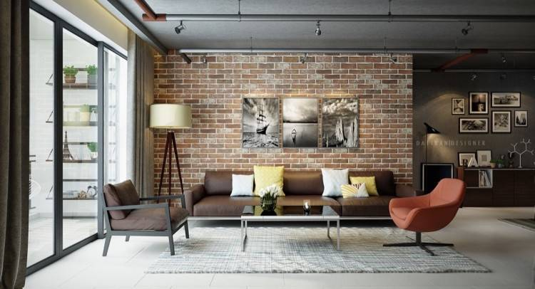 I love clean, minimal spaces, but not completely bare walls