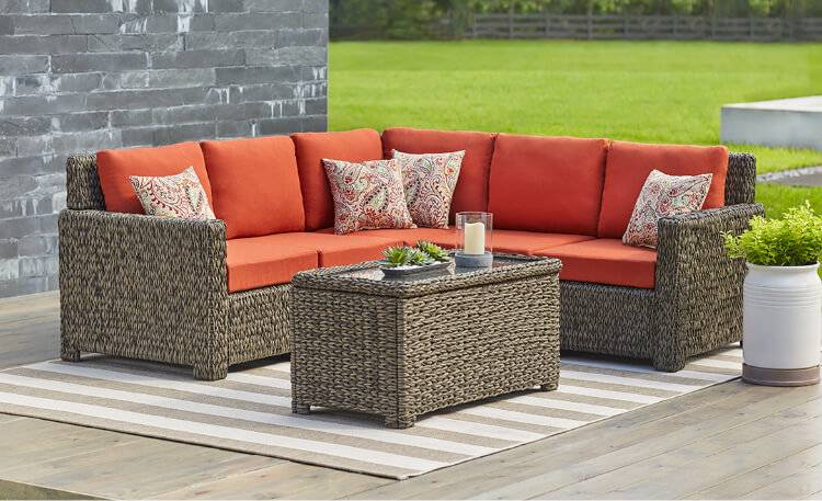 Patio, 22 Awesome Outdoor Patio Furniture Options And Ideas Patio  Dining Sets: Enchanting Deck