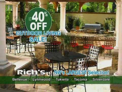 Relax on hot August nights with new patio furniture