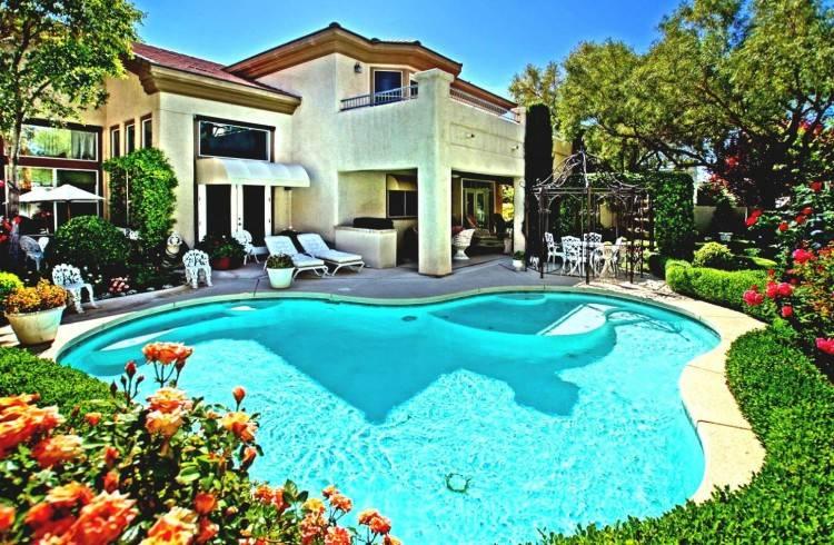 Outdoor Design: Swimming Pool Modern Idea Outdoor Design Swimming
