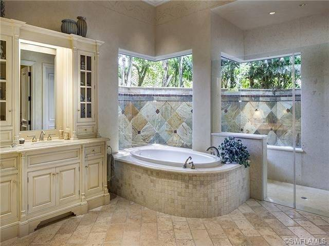 Outdoor shower in Rosemary Beach, Florida