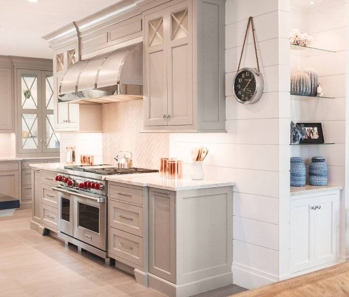 shiplap ceiling kitchen