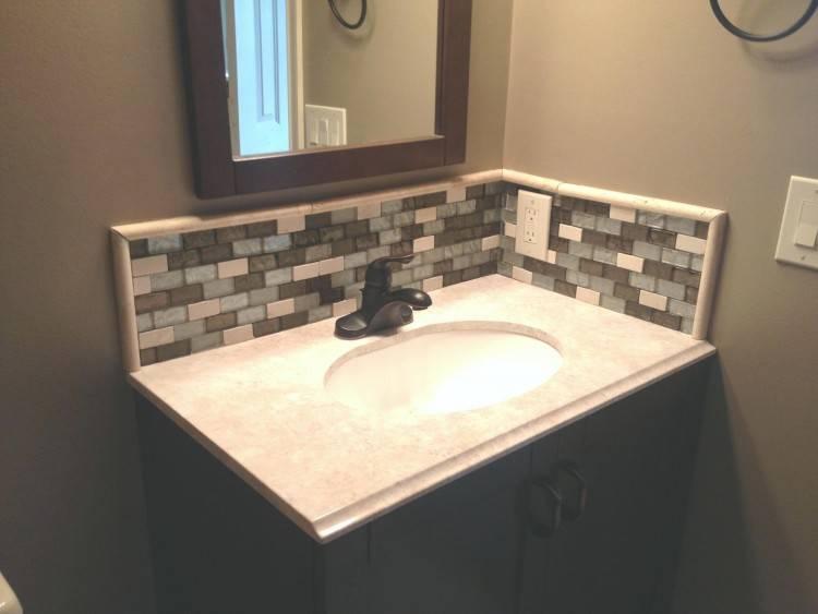 diy bathroom sink ideas aqua double vanity with vessel sinks diy bathroom  sink backsplash ideas