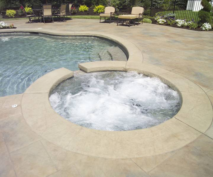 the terminology that pool contractors use to describe and calculate the swimming  pool design