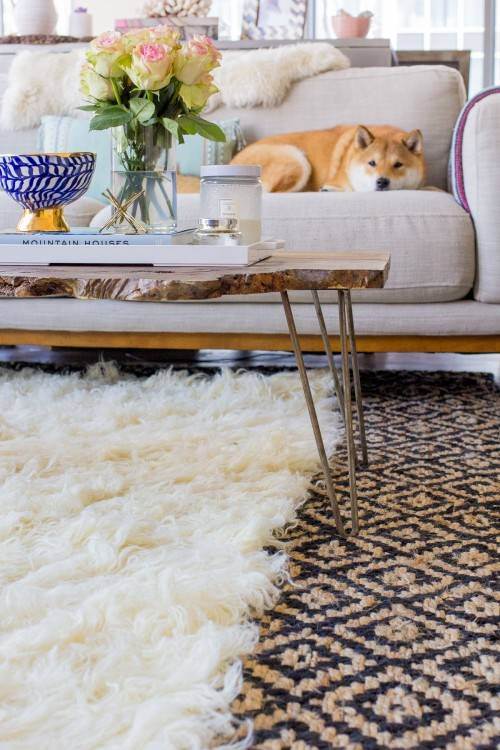 how to decorate with layered rugs