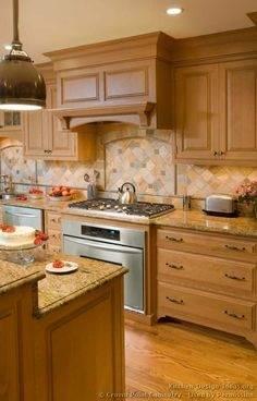 Top Diy Kitchen Backsplash Ideas With Wooden Cabinet Kitchen Idea  Collection in Backsplash Kitchen Ideas