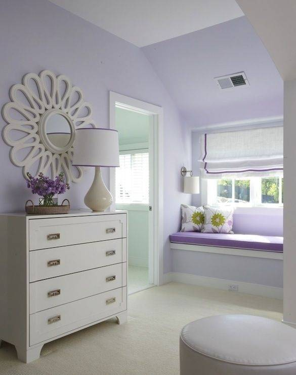 Collecting Bedroom Decorating Ideas for Teens : Enchanting Purple Bedroom  Decorating Ideas For Teens Decoration Using Light Purple Flower Girl Room