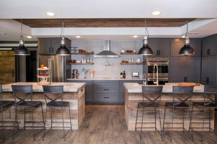 Kind of a industrial and eclectic Kitchen I like