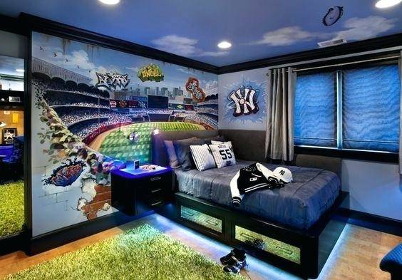 small bedroom man cave ideas