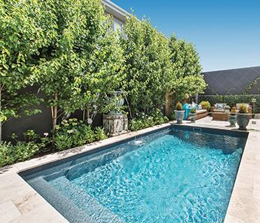A Mayfair pool design at a home in Central Otago