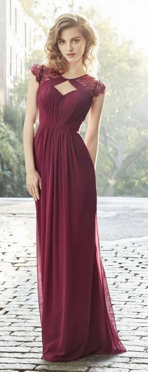 Burgundy South African Long Bridesmaid Dresses For Wedding Lace Long Sleeve  Mermaid Maid Of Honor Gowns Wedding Guest Formal Dress 2018 Dark Grey  Bridesmaid