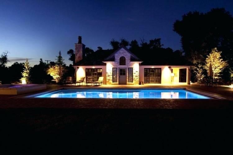 outdoor lighting around pool stunning swimming pool design with lighting  ideas and waterfall outdoor lighting pool