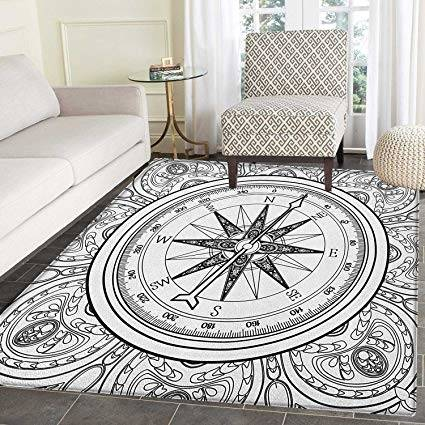kids nautical rug