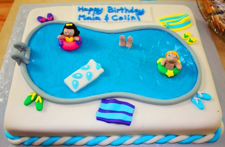 pool party cake ideas pinterest best cakes on decorating beach ball