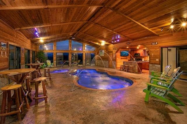 Are you looking for the best Gatlinburg Cabins with indoor pools? Look no  further! We have dug through thousands of listings to find our absolute  favorites