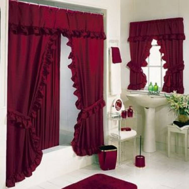 Full Size of Bathroom Chrome Shower Curtain Rod Shower Curtain Ideas For  Small Bathrooms Shower Curtains