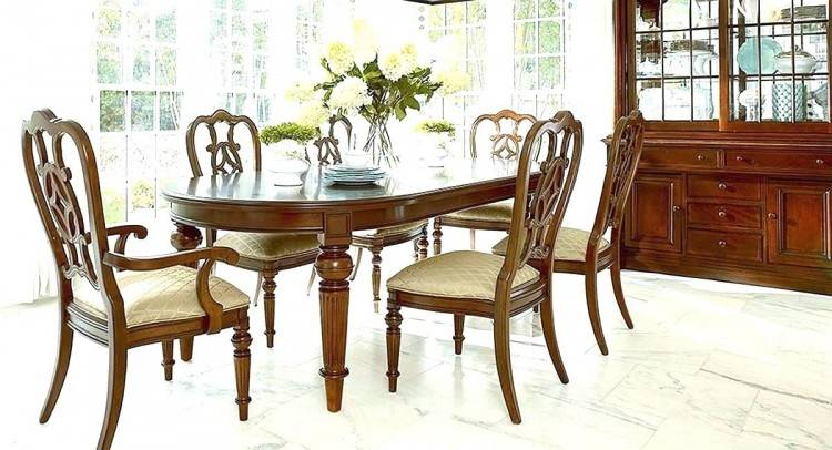dining sets room chair set chairs and thomasville cherry for sale
